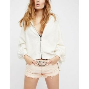 New Free People Soft & Relaxed Cut Off Shorts